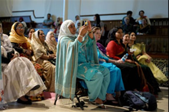Bangladehi WA audience photo Wales News & Pictures